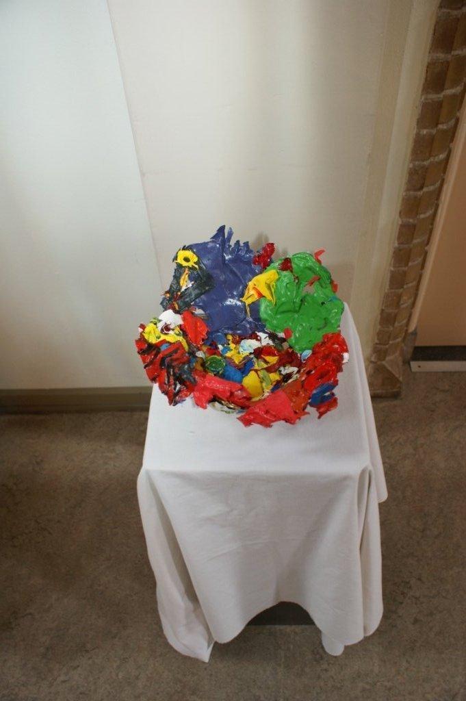 acrylverfschaal